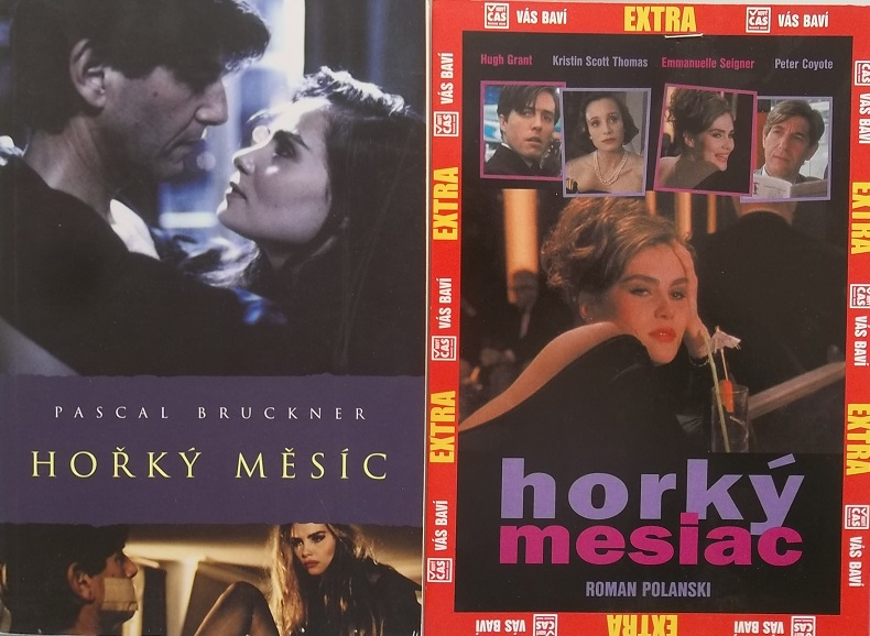 Kolekce Hořký měsíc ( 1x kniha + 1x DVD )