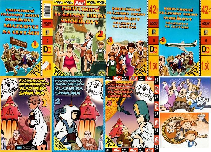 Kolekce Rodiny Smolíkovy ( Kompletní ) - 7 DVD