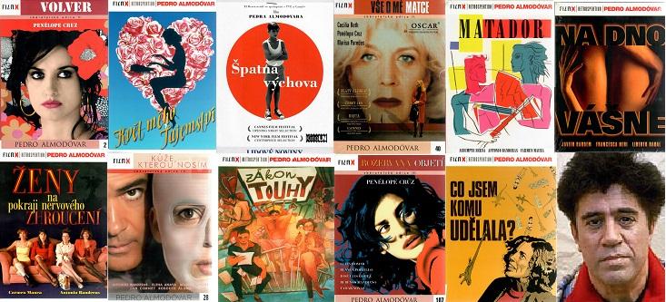 Velká kolekce Pedro Almodovár - 11 DVD