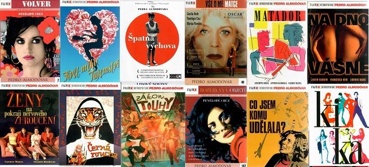Velká kolekce Pedro Almodovár - 12 DVD