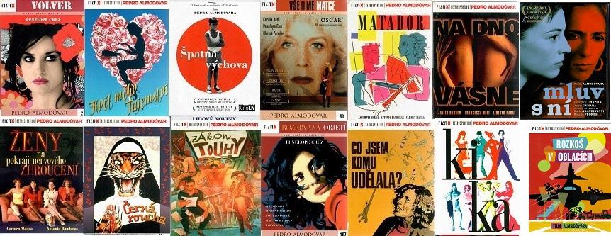 Velká kolekce Pedro Almodovár - 14 DVD