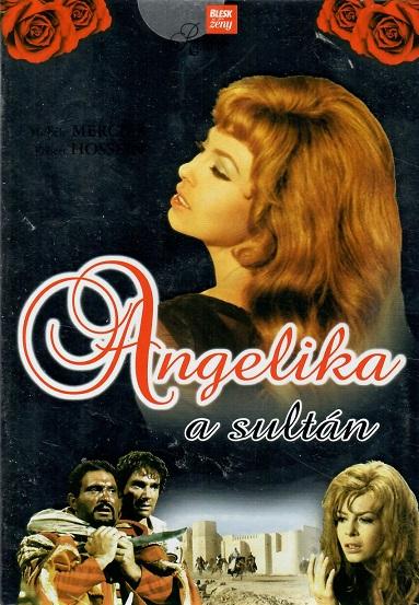 Angelika a sultán - pošetka DVD