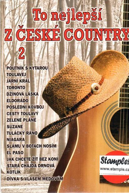 To nejlepší z české country 2 - CD - papírová pošetka
