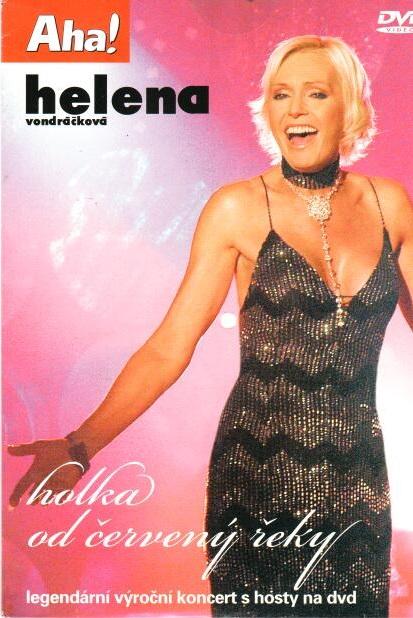 Helena Vondráčková - holka od červený řeky - DVD pošetka