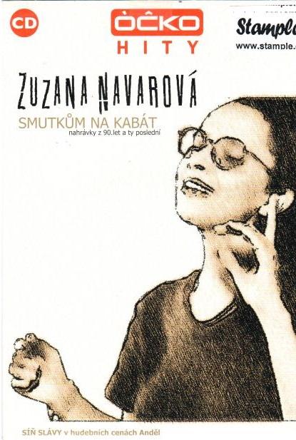 Zuzana Navarová - Smutkům na kabát - CD papírová pošetka