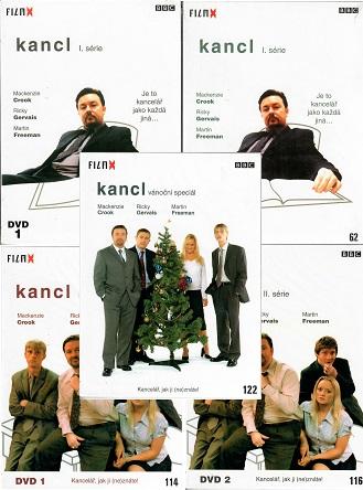 Kolekce Kancl - 5 DVD