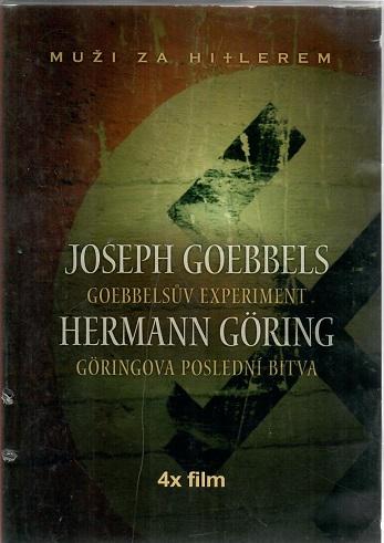Muži za Hitlerem - Goebbelsův pokus, Göringův poslední boj  4x DVD ( bazarové zboží )