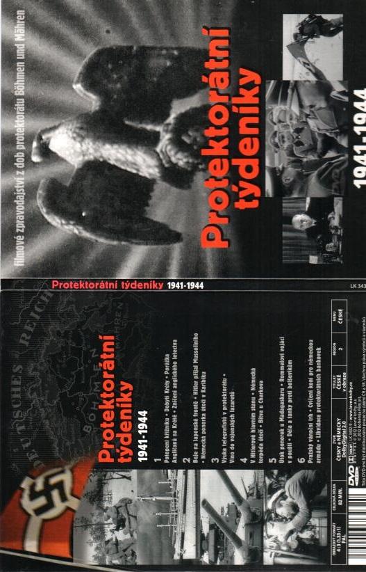 Protektorátní týdeníky 1941-1944 - DVD digipack