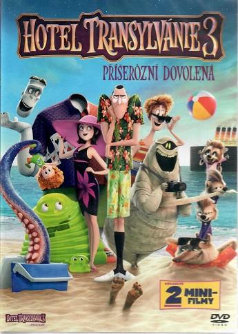 Hotel Transylvánie 3: Příšerózní dovolená DVD plast