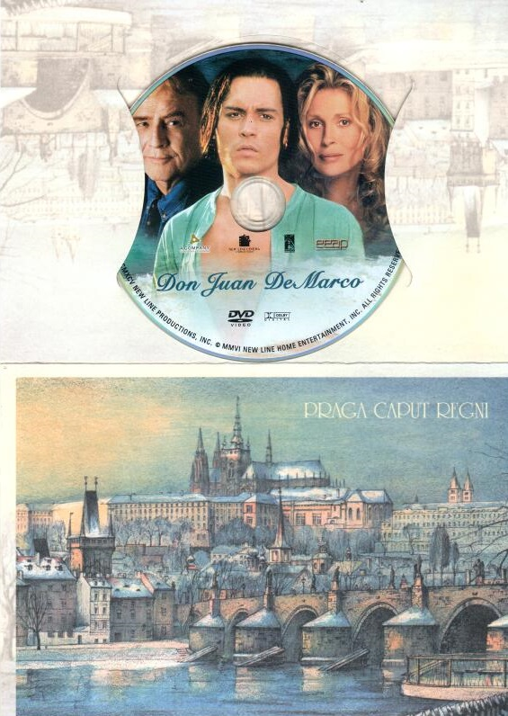 Don Juan Demarco - DVD dárková obálka