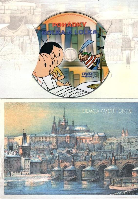 Pohádky Bolka a Lolka - DVD dárková obálka