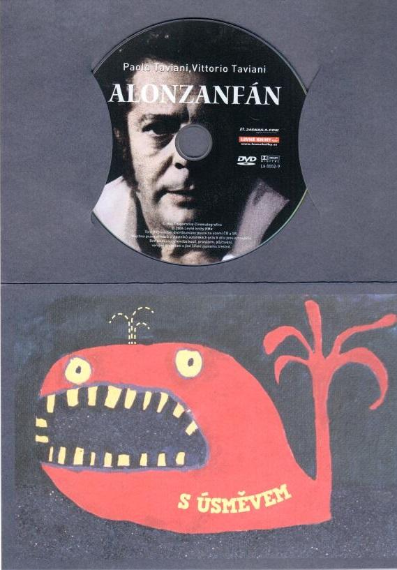 Alonzanfán - DVD dárková obálka