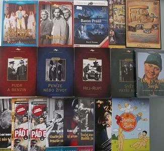Kolekce Jan Werich - 18 DVD
