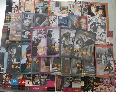 Kolekce Rudolf Hrušínský - 60 DVD