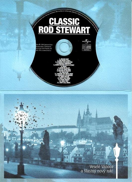 Rod Stewart - Classic ( dárkový papír obal ) - CD