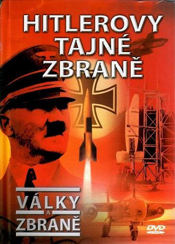 Války a zbraně 26 - Hitlerovy tajné zbraně ( DVD + brožurka ) - DVD