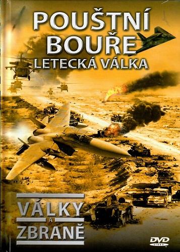 Války a zbraně 18 - Pouští bouře, letecká válka ( DVD + brožurka ) - DVD