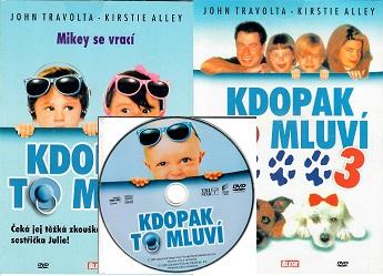 Kolekce Kdopak to mluví - 3 DVD