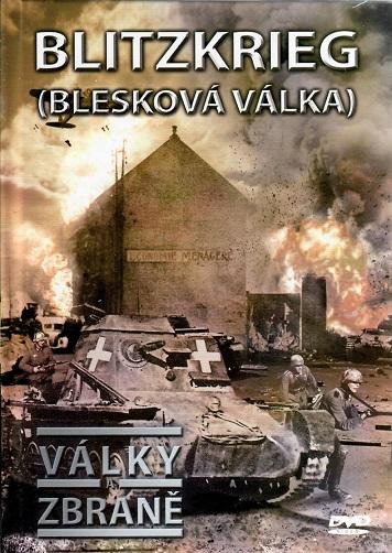 Války a zbraně 12 - Blitzkrieg, blesková válka ( DVD + brožurka ) - DVD
