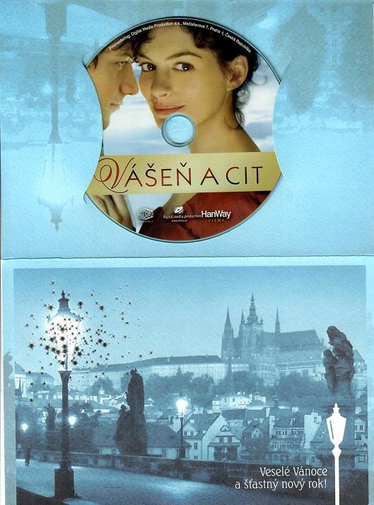 Vášeň a cit ( dárkový papír obal ) - DVD