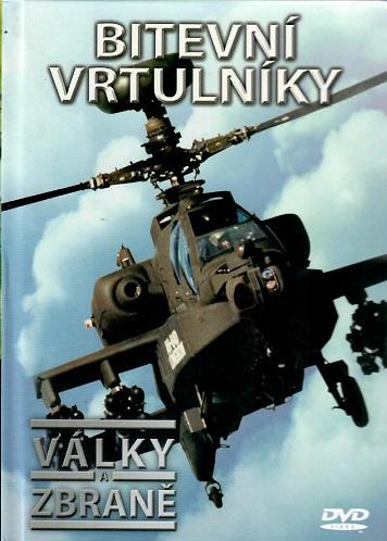 Války a zbraně 2 - Bitevní vrtulníky ( DVD + brožurka ) - DVD