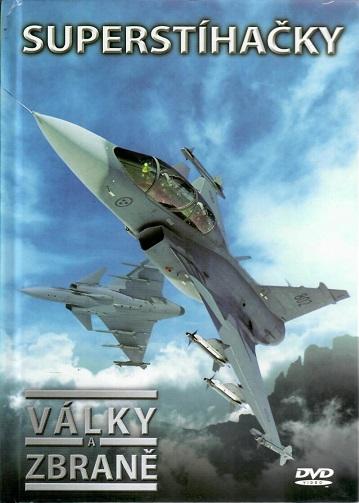 Války a zbraně 1 - Superstíhačky ( DVD + brožurka ) - DVD