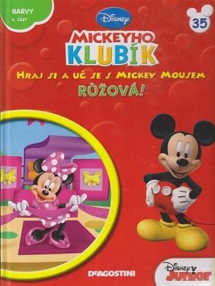 Mickeyho klubík 35 (DVD + kniha) - bazarové zboží