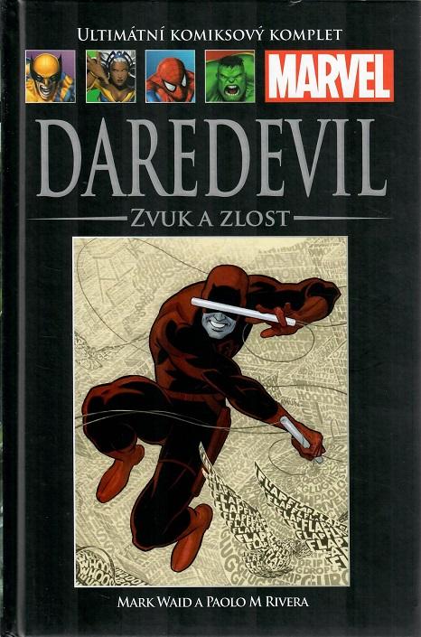 Ultimátní komiksový komplet - DAREDEVIL: ZVUK A ZLOST - hřbet č. 77