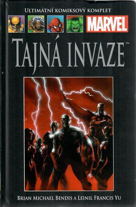 Ultimátní komiksový komplet -TAJNÁ INVAZE - hřbet č. 57