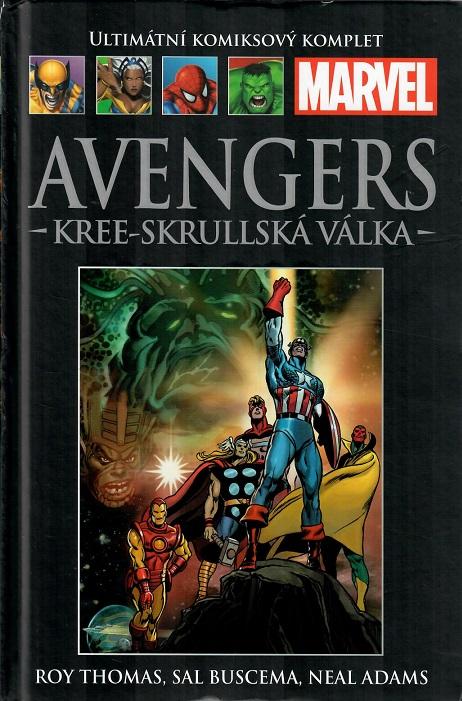 Ultimátní komiksový komplet  - KREE-SKRULLSKÁ VÁLKA  - hřbet č. 104