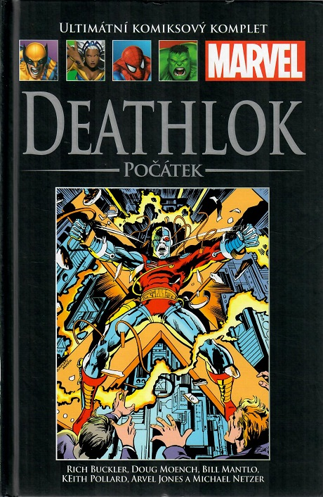 Ultimátní komiksový komplet  - DEATHLOK: POČÁTEK - hřbet č. 113