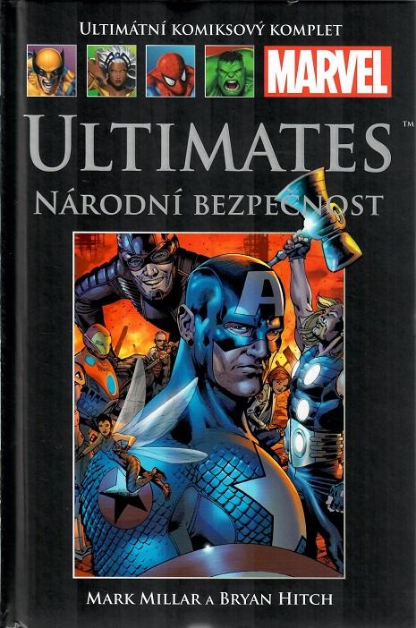 Ultimátní komiksový komplet -Ultimates, národní bezpečnost - hřbet č. 37