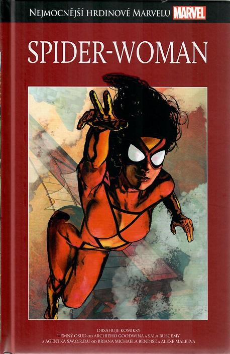 Nejmocnější hrdinové Marvelu - SPIDER-WOMAN - hřbet č. 49