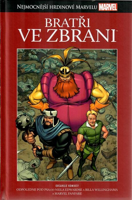Nejmocnější hrdinové Marvelu - Bratři ve zbrani - hřbet č. 9