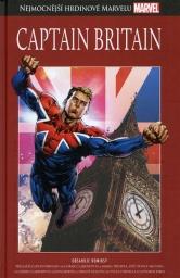 Nejmocnější hrdinové Marvelu - CAPTAIN BRITAIN - hřbet č. 46