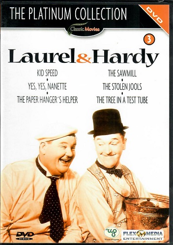 Laurel a Hardy - The Platinum Collection 3 - DVD