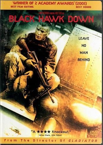Black Hawk down / Černý jestřáb sestřelen ( originální znění BEZ CZ titulků ) - DVD