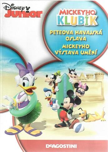 Mickeyho klubík: Peteova havajská oslava / Mickeyho výstava umění - DVD