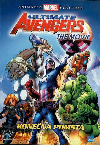Ultimate Avengers The Movie, konečná pomsta  - Plast DVD