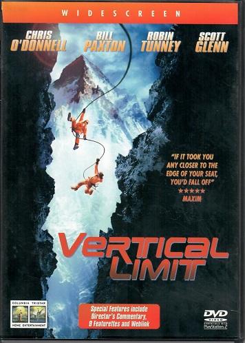 Vertical limit ( originální znění s CZ titulky ) - plast DVD