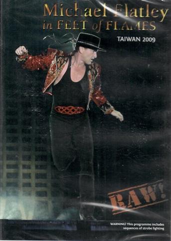 Michael Flatley in Feet of Flames ( Taiwan 2009 ) - DVD
