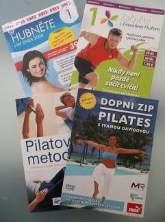 Kolekce Pilatova metoda+3 DVD