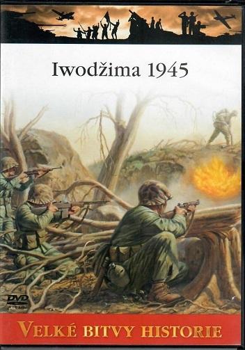Velké bitvy historie 41 - Iwodžima 1945 - slim DVD
