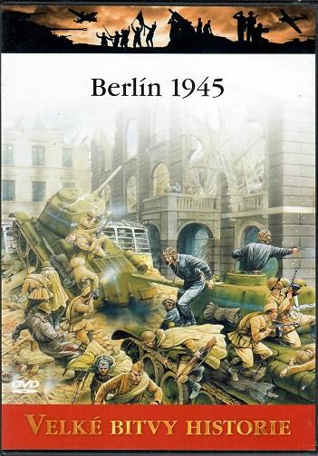 Velké bitvy historie 55 - Berlín 1945 - slim DVD