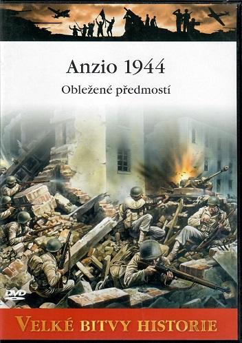 Velké bitvy historie 45 - Anzio 1944 - slim DVD