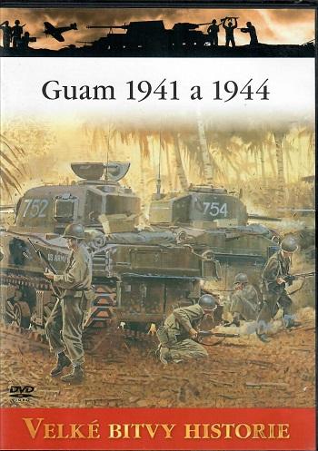 Velké bitvy historie 44 - Guam 1941a 1944 - slim DVD