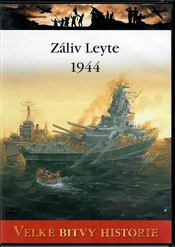 Velké bitvy historie 35 - Záliv Leyte 1944 - slim DVD