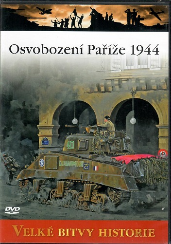 Velké bitvy historie 52 - Osvobození Paříže 1944 - slim DVD