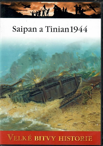 Velké bitvy historie 50 - Saipan a Tinian 1944 - slim DVD