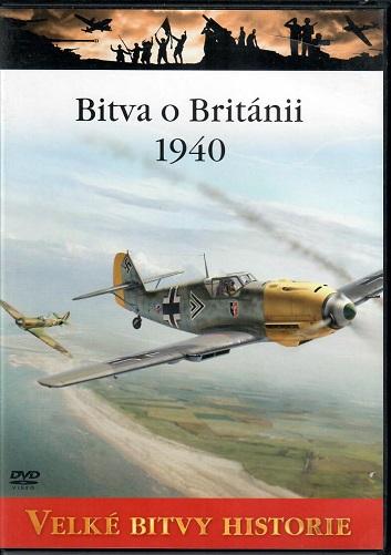 Velké bitvy historie 1 - Bitva o Británii 1940 - slim DVD